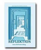 Omslag för boken reflektion som arbetsutveckling