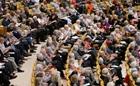 SNAC-K dag om forskning  i Aula Medica, Karolinska Institutet Foto: Maria Yohuang