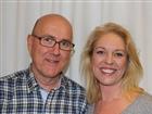 Lars Sonde och Jenny Österman, utredare på Äldrecentrum och ansvariga för workshopar om LUS