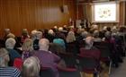 Stort intresse för föreläsningen om hemmets ökande betydelse efter pensionen